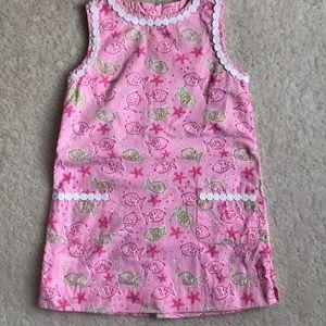 Lily Pulitzer shift dress size 4T